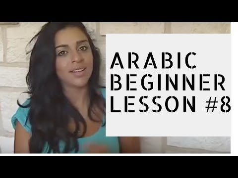 Arabic Beginner Lesson 8-  Arabs never complain!