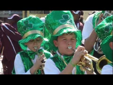 Thomas Sumter Academy Band - Savannah St. Patty's Day Parade 3/17/11