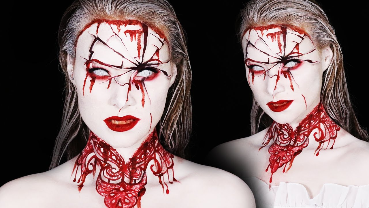 Bloody Mary Makeup Tutorial | Halloween 2016 - YouTube