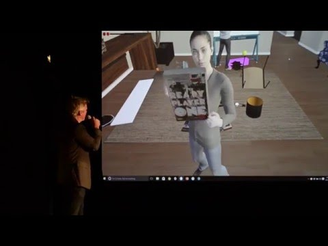 High Fidelity Social VR Live Demo with Philip Rosedale at SVVR 2016
