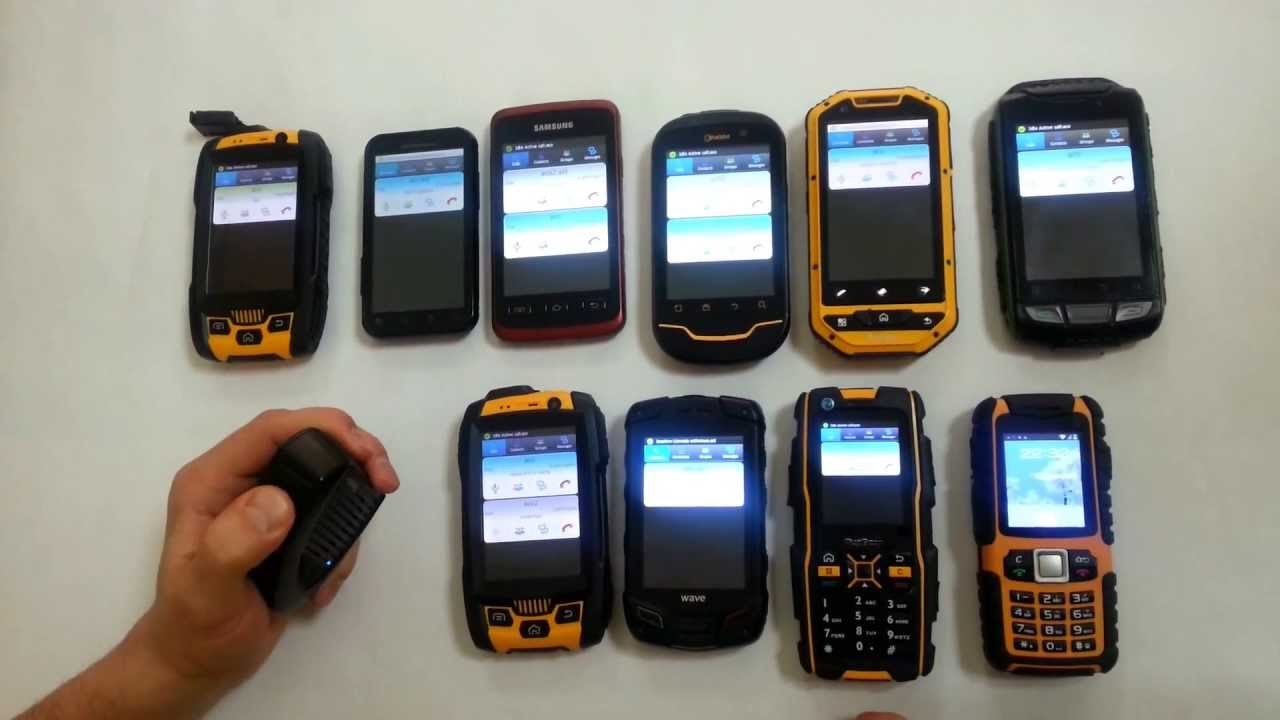 Android Push to talk - Rugged Terminals used with the Azetti PTT