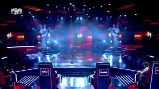 Tiberiu Albu - Rock and roll (Led Zeppelin) - Vocea Romaniei 2014 - Sezonul 4 - LIVE 2 - Editia 12