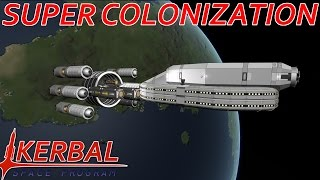 36 fathership mk2 overview   modded ksp super colonization