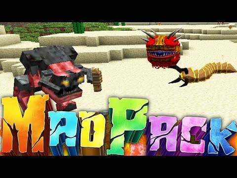 THE MOST DIFFICULT MOD PACK  - MINECRAFT MAD PACK CHALLENGE SURVIVAL #1