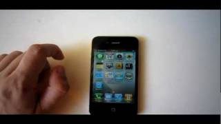 How to Make Folders in iOS 4 / iPhone 4 - www.digitallife.gr