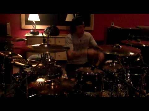 Sevendust- Day 3- Morgan tracking drums