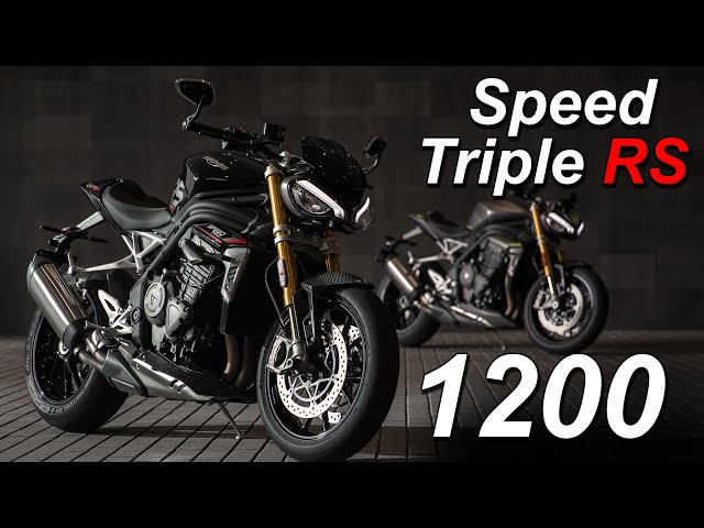 Triumph Speed Triple 1200 RS New Model Overview