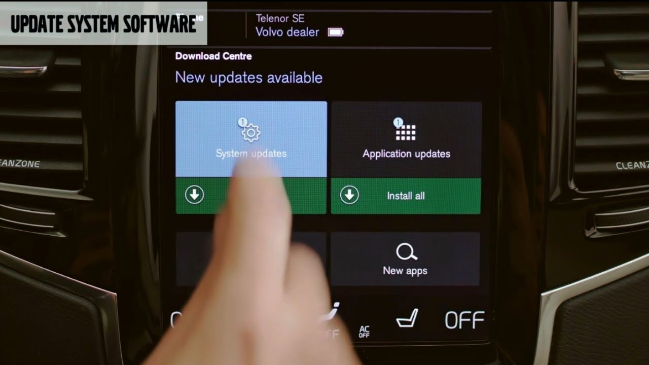 Volvo - System updates