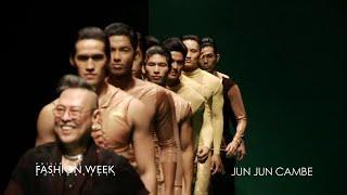YouTube EXCLUSIVE: JUN JUN CAMBE | Philippine Fashion Week - HOLIDAY 2014 Thumbnail