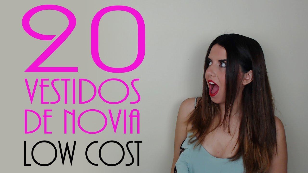 VESTIDOS DE NOVIA LOW COST: vestidos de novia baratos y económicos ...