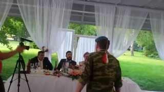 ШОК! ВДВшник зашел на свадьбу к бывшей невесте.