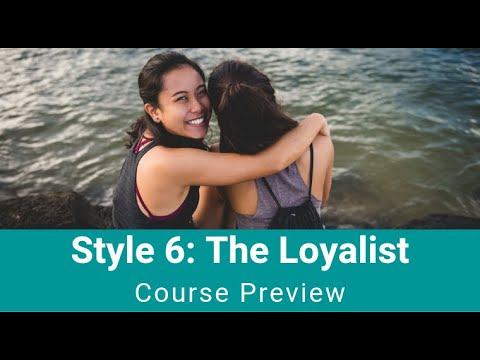 "Style 6 - ""The Loyalist"""