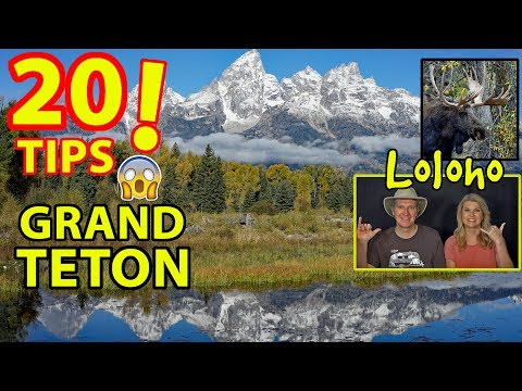 THE TRUTH ABOUT GRAND TETON NATIONAL PARK & JACKSON HOLE, WYOMING -- 20 TIPS!