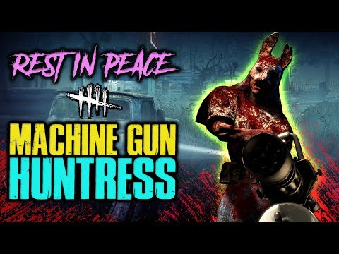 RIP Machine Gun Huntress! :( [#187] Dead by Daylight with HybridPanda