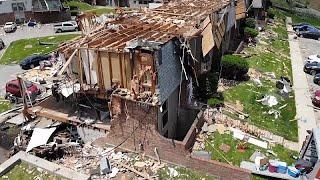 شاهد: سلسلة أعاصير تضرب ولايات أمريكية عدة