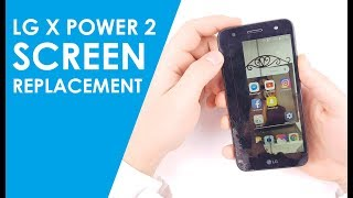 How to replace LG X Power LCD Glass Screen | Screen