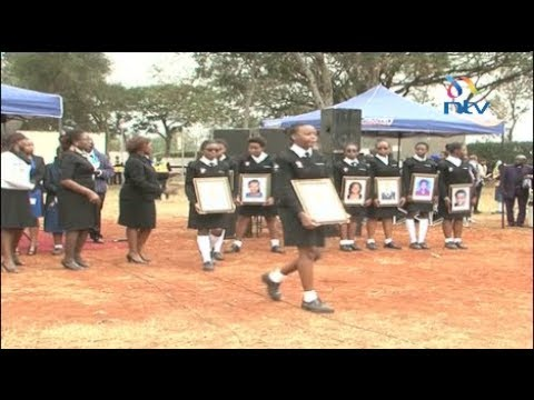 Memorial service held for 9 Moi Girls High school fire victims