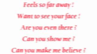 KRIS ALLEN I NEED TO KNOW with lyrics