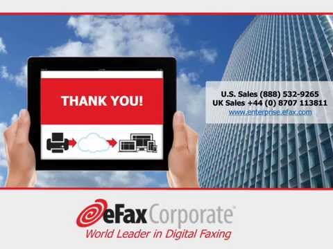 Unplug the Fax Machine Webinar - Legal | eFax Corporate®