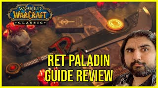 WoW Classic Ret Paladin DPS Guide Review | Esfand's Daily Dose of Classic #7