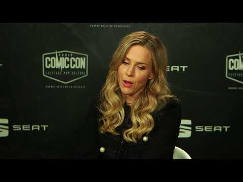 Julie Benz au Comic Con Paris 2017