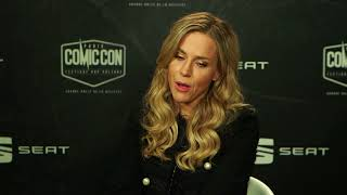 interview julie benz au comic con paris 2017