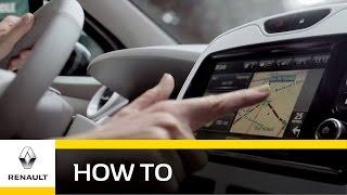 Renault R-Link - Z.E. Navigation