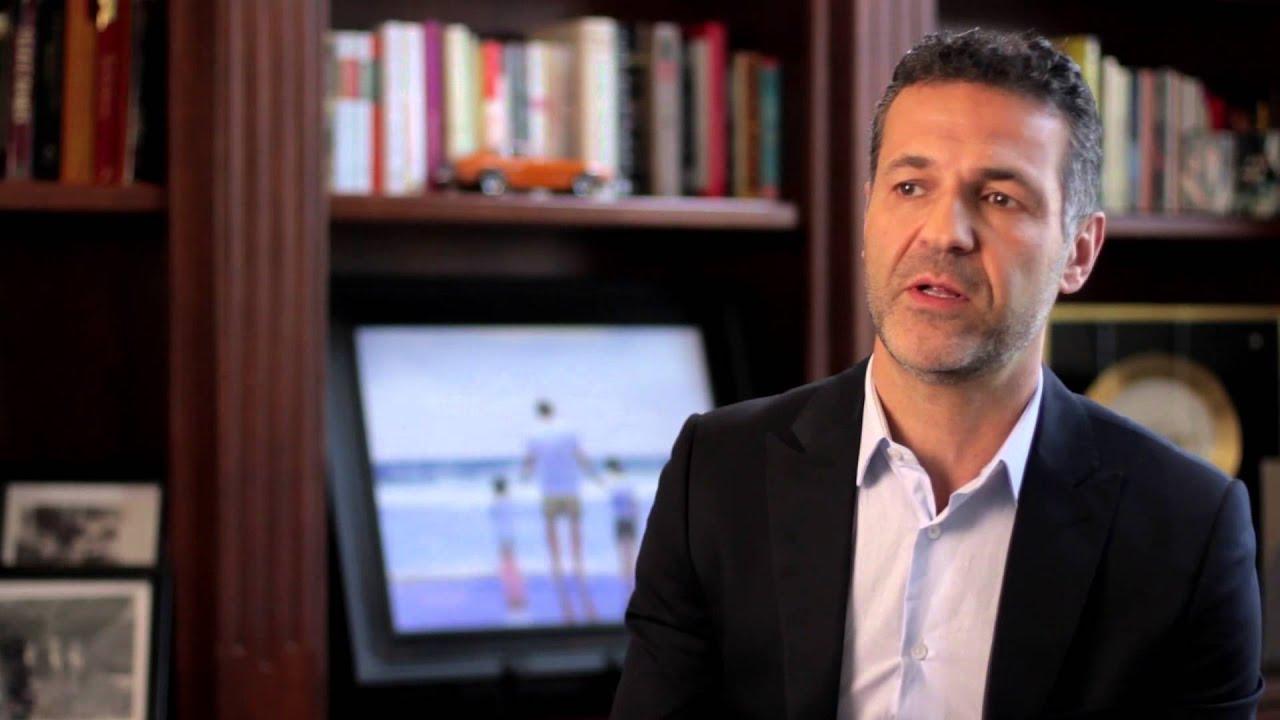 khaled hosseini speaks about his foundation   youtube