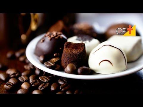 Trufa de Café Moldada - Curso CPT Produção de Bombons e Trufas