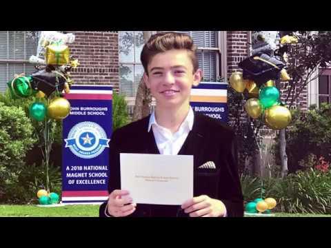 John Burroughs Middle School Class of 2018 (Steven's Middle School Graduation)