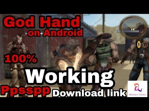 God Hand Play Station Game How To Install And Play In Android Mobile By Multiple Choice