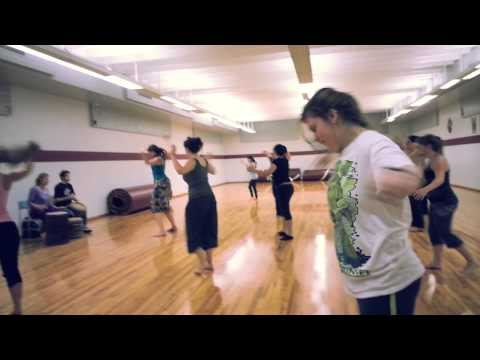 Chico State Afro-caribbean Dance Class