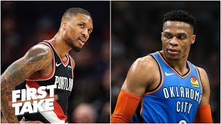 Download Russell Westbrook and Damian Lillard can't be best player on a title team - Pablo Torre   First Take Mp3 and Videos