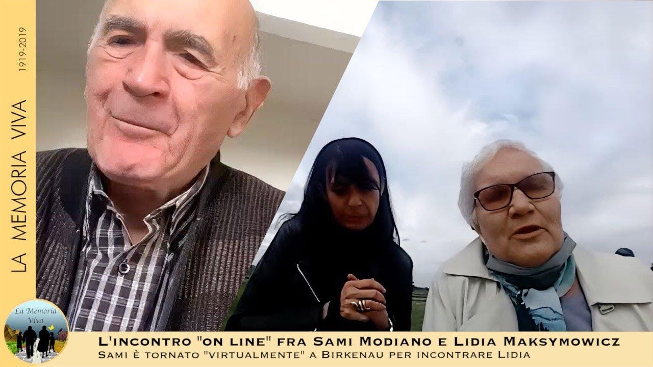 Sami Modiano da Roma e Lidia Maksymowicz da Birkenau