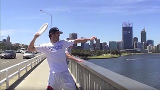 Epic Frisbee Trick Shots 2011   Brodie Smith