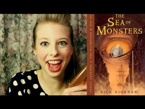 Download THE SEA OF MONSTERS BY RICK RIORDAN: booktalk with XTINEMAY