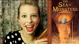 THE SEA OF MONSTERS BY RICK RIORDAN: booktalk with XTINEMAY