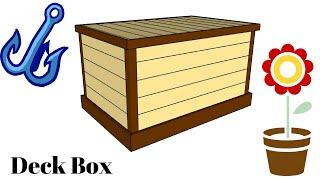 Storage Box Plans