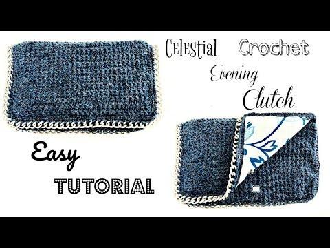 Crochet Celestial Evening Clutch