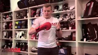 видео Боксерские перчатки для соревнований