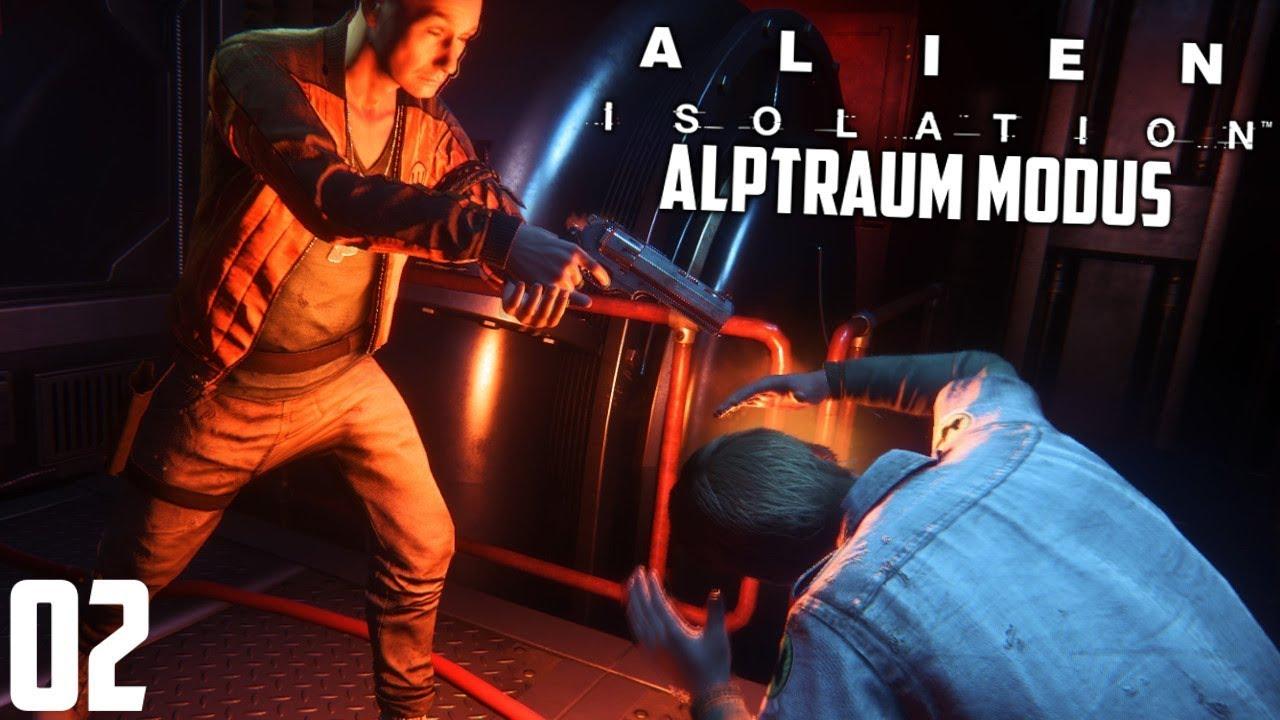 ER hat ihn einfach umgebracht ! | Alien Isolation (Alptraum Modus) #02 | [Deutsch/German] - YouTube