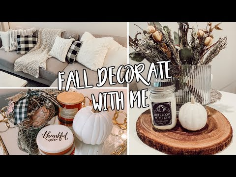 FALL DECORATE WITH ME + FALL DECOR HAUL | Homegoods, Target & more!