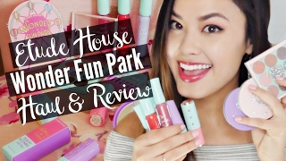 Etude House Wonder Fun Park Collection Haul, Review & Demo | The Beauty Breakdown