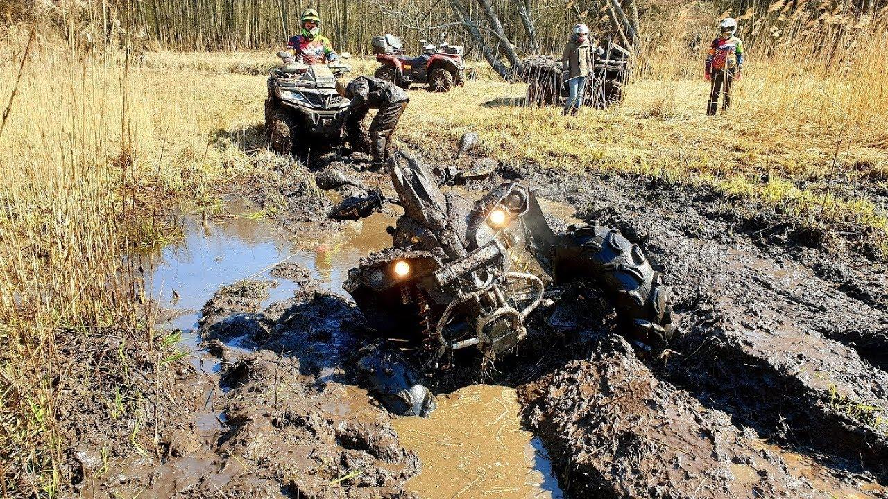 Пыль грязь и квадроциклы CAN AM POLARIS CFMOTO YAMAHA