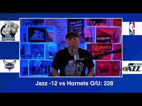 Utah Jazz vs Charlotte Hornets 2/22/21 Free NBA Pick and Prediction NBA Betting Tips