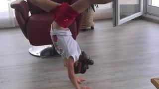 Emma rester amazing littel gymnast (1 year of posting gymnastics videos on youtube)