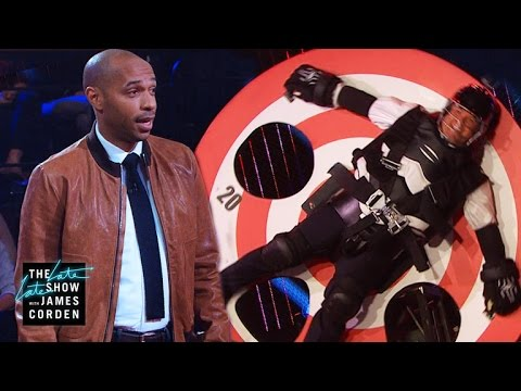 Target Practice With Thierry Henry