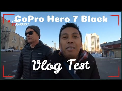 GOPRO Hero 7 | Edmonton Vlog Test | Welcome to our CHANNEL!