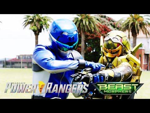 "Blue Ranger Vs Roxy Avatar Final Battle | Power Rangers Beast Morphers Episode 19 ""Target: Tower"""