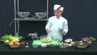 Final 2014 Sodexo Future Chefs Finalist: Meredith Toasted Cheese Dippers With Mango Salsa
